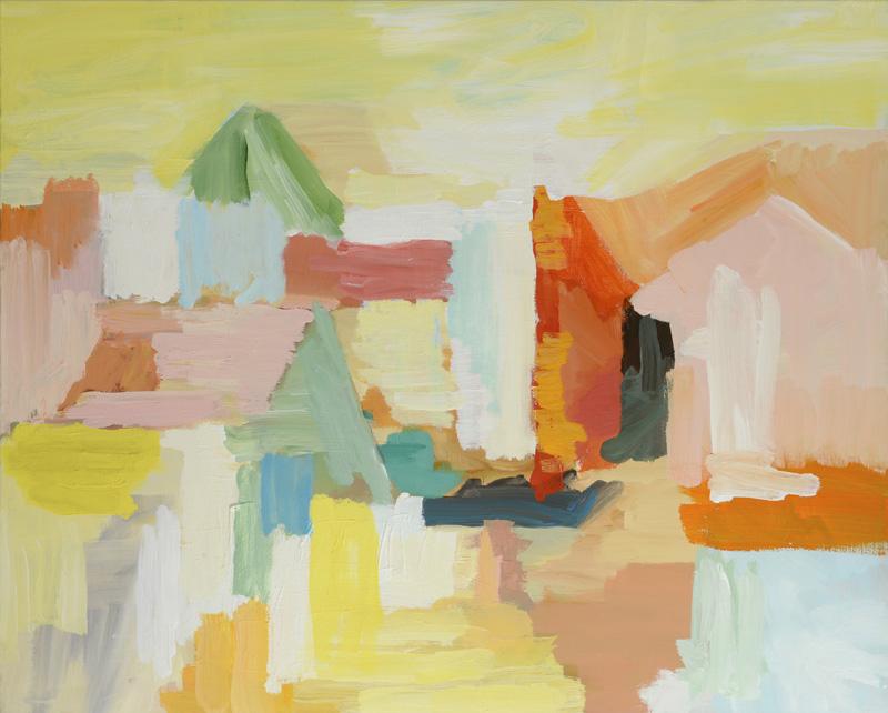 Paglierino, 2013, 80x100 cm, tempera su tela