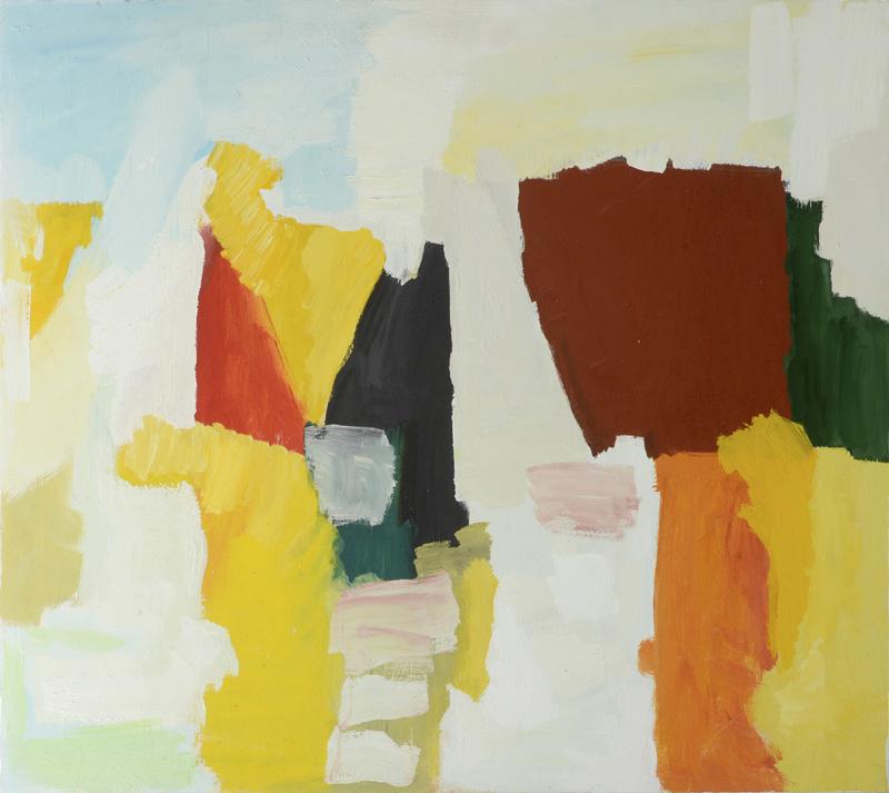 Vaniglia, 2012, 80x90 cm, tempera su tavola